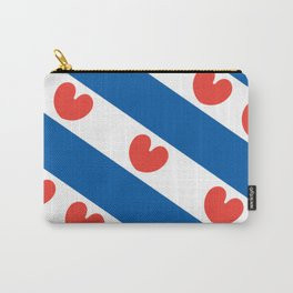 Flag of Friesland Carry-All Pouch