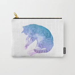 Gorgeous Pastel Cat Image Carry-All Pouch