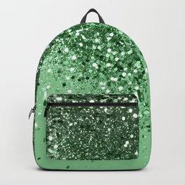 Green Spring Vibes Glitter #1 #shiny #decor #art #society6 Backpack