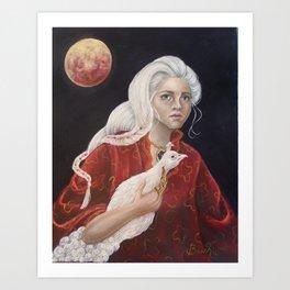 """""""Lela"""" Art Print"""