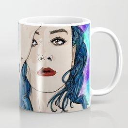 The blue hair girl Coffee Mug