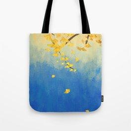 Fall Painting Tote Bag