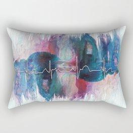 Heartbeat Drama Rectangular Pillow