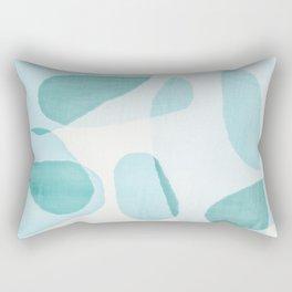 Overlapping Ovals Rectangular Pillow