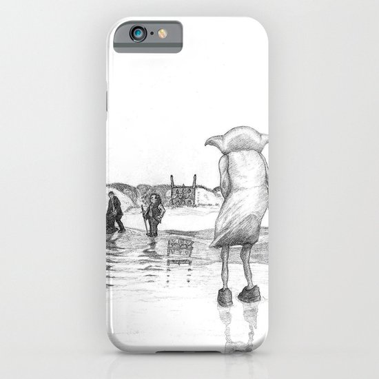 """Death of a Free Elf"" - Dobby in Deathly Hallows iPhone & iPod Case"