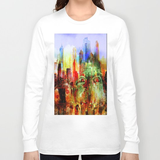 welcome to scary city Long Sleeve T-shirt