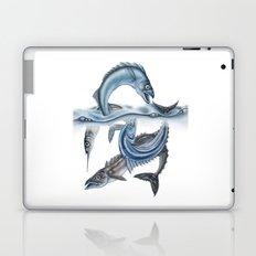INKYFISH - Fish scraps Laptop & iPad Skin