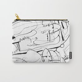 Therapy - b&w Carry-All Pouch