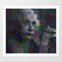einstein Art Prints featuring Einstein by Artstiles