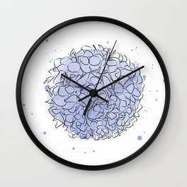 delicate flowers, Paradise flowers, wallpaper , wall decor Wall Clock