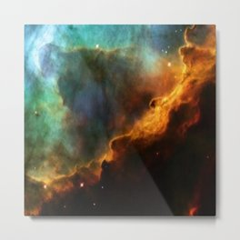Nebula Omega Metal Print
