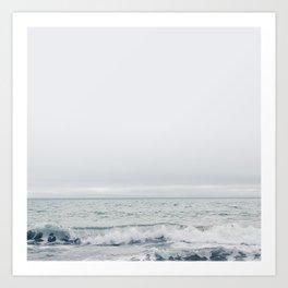cove   muir beach, california Art Print