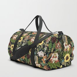 Botanical Puppies Duffle Bag