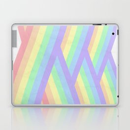 """Rainbow shine"" geometrical minimal art Laptop & iPad Skin"