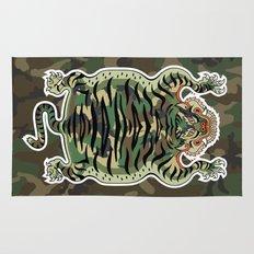 TIBETAN TIGER CAMOUFLAGE Rug