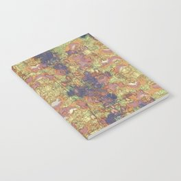 Mineral Map - Abstract Art Notebook