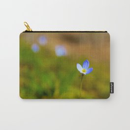 Spring in Bluet Carry-All Pouch