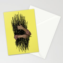 embrace chaos Stationery Cards