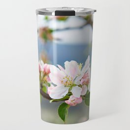 Apple blossom in spring Travel Mug