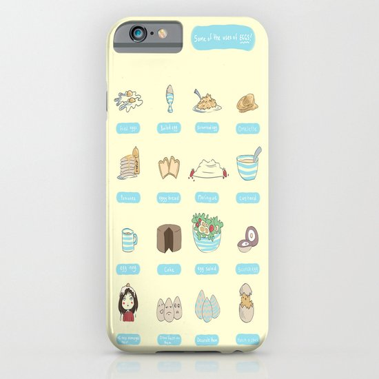 Some of the uses of eggs iPhone & iPod Case