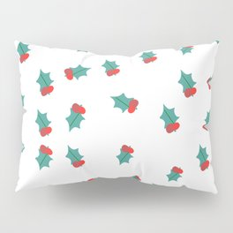 Ditsy Mistletoe Pillow Sham