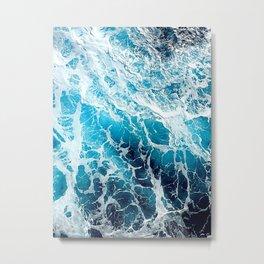 Foaming sea Metal Print