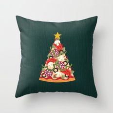 PIZZA ON EARTH Throw Pillow