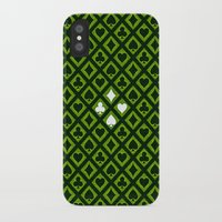 suits iPhone & iPod Cases featuring Card Suits by Diogo Coito
