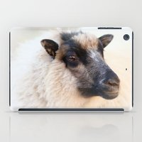 sheep iPad Cases featuring sheep by Bunny Noir