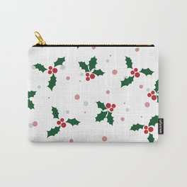 Holly tree pattern Carry-All Pouch