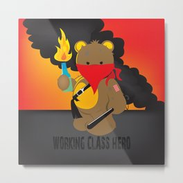 working class hero Metal Print