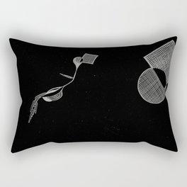 flying is hard Rectangular Pillow