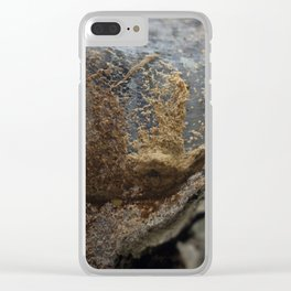 The abstract art of Mother Nature Clear iPhone Case