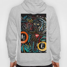 Past Present Future Street Art Graffiti Dreams and Hope for All Hoody