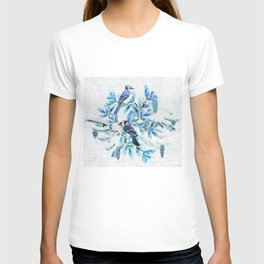 WINTER BLUE JAYS T-shirt