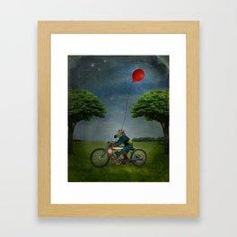 Midnight Express Framed Art Print