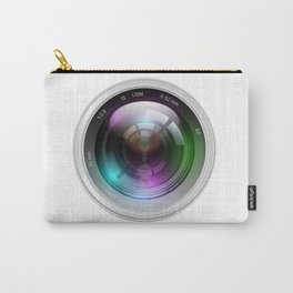 Realistic lens Carry-All Pouch