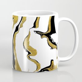 Gold And Black Opulence Coffee Mug