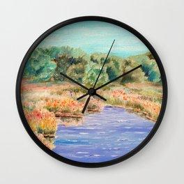 Summer Days Wall Clock