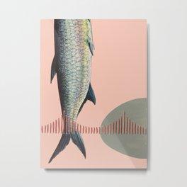 Golden Gate Fish Metal Print