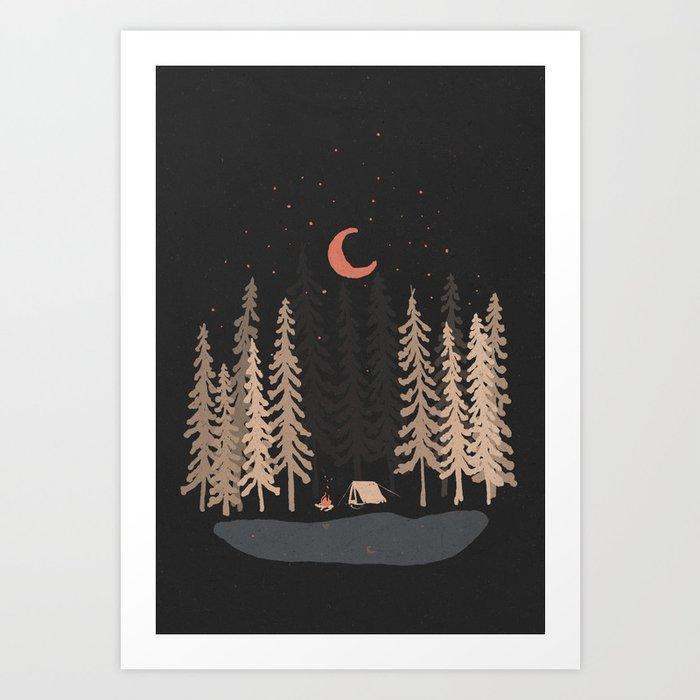Feeling Small... Art Print