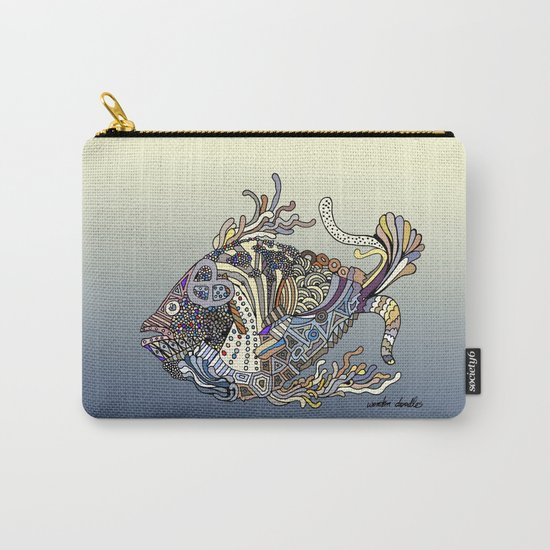 Dragon Fish (Color) Carry-All Pouch