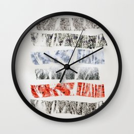 Nature Tape Wall Clock