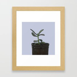 The Plant Bianca Watered Framed Art Print