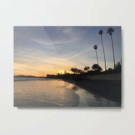 Butterfly Beach Montecito Metal Print