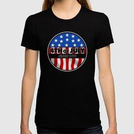 US Flag 4th of Juli T-shirt