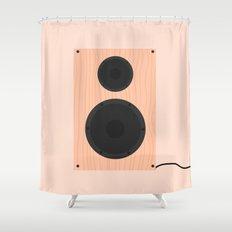 #60 Speaker Shower Curtain