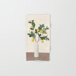 Lemon Branches II Hand & Bath Towel