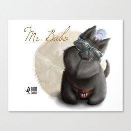 Mr. Bubo Canvas Print