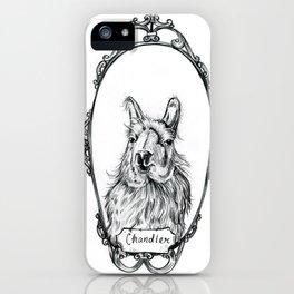 Chandler the Llama iPhone Case